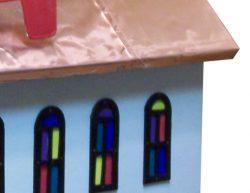 Pinehill Woodcrafts Copper Church Close Up