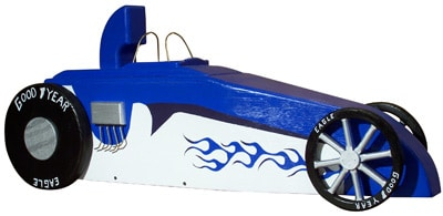 Dragster Novelty Mailbox