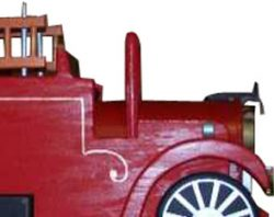 Pinehill Woodcraft Fire Truck Close Up