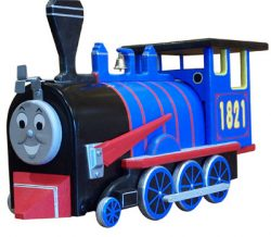 Kids Train Engine Novelty Mailbox
