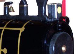 Pinehill Woodcraft Natural Train Close Up