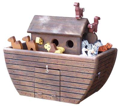 Woodendipity Style Noah's Ark Novelty Mailbox