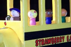Pinehill Woodcraft School Bus Close Up
