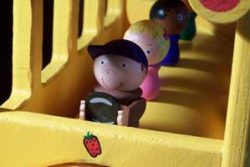 inehill Woodcraft School Bus Close Up