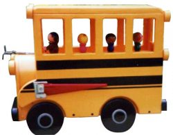 School Bus Novelty Mailbox