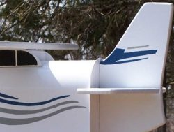 Pinehill Woodcraft Sea Plane Close Up