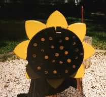Sunflower Novelty Post Mount Mailboxes