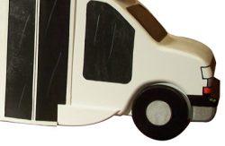 Pinehill Woodcraft Tour Bus Close Up