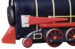 Pinehill Woodcraft Red Train Close Up