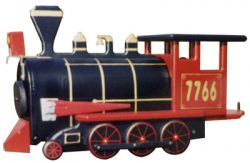 Red Train Engine Novelty Mailbox