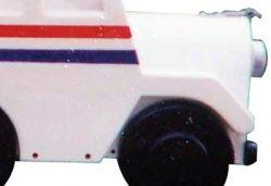 Pinehill Woodcraft Mail Truck Close Up