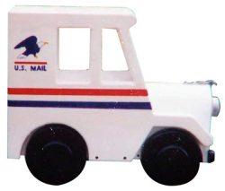 US Mail Truck Novelty Mailbox