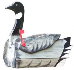Woodendipity Style Canadian Goose Novelty Mailbox