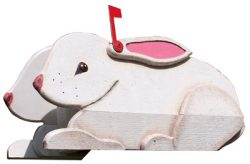 Woodendipity Style Hare Novelty Mailbox
