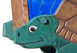 Pinehill Woodcraft Sea Turtle Close Up