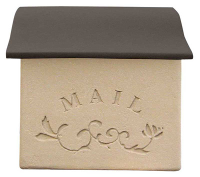 Deas Garden Stucco Wall Mount Mailboxes