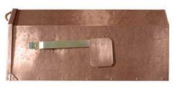 QualArc Provincial Mailbox Antique Hammered Copper