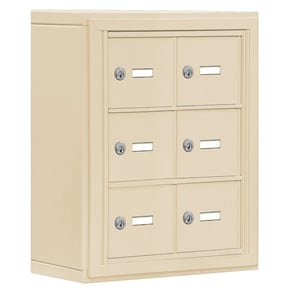 Salsbury 19035-06 Phone Locker Sandstone
