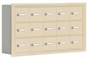 Salsbury 19035-15 Phone Locker Sandstone