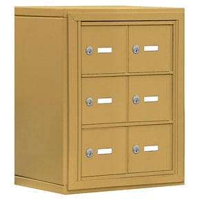 Salsbury 19038-06 Phone Locker Gold