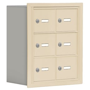 Salsbury 19038-06 Phone Locker Sandstone