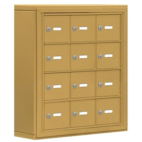 Salsbury 19045-12 Phone Locker Gold