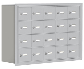Salsbury 19048-20 Phone Locker Aluminum