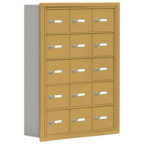 Salsbury 19055-15 Phone Locker Gold