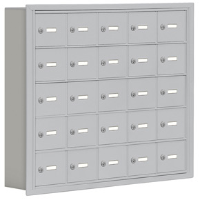 Salsbury 19055-25 Phone Locker Aluminum