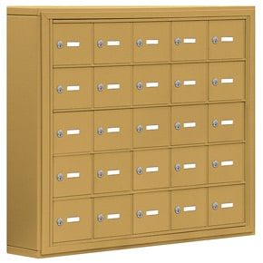 Salsbury 19055-25 Phone Locker Gold