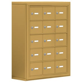 Salsbury 19058-15 Phone Locker Gold
