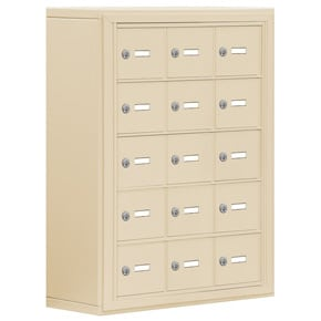 Salsbury 19058-15 Phone Locker Sandstone