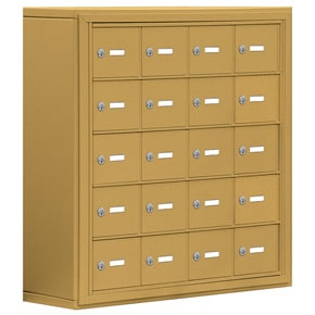 Salsbury 19058-20 Phone Locker Gold