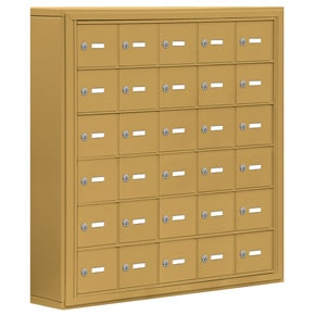 Salsbury 19065-30 Phone Locker Gold