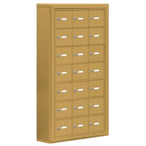 Salsbury 19075-21 Phone Locker Gold