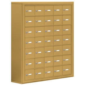 Salsbury 19078-35 Phone Locker Gold