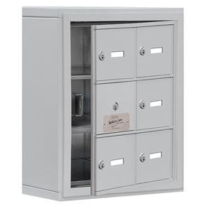 Salsbury 19135-06 Phone Locker Aluminum