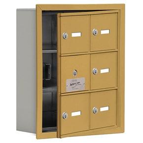 Salsbury 19135-06 Phone Locker Gold