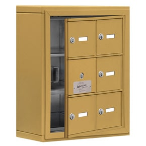 Salsbury 19135-06 Phone Locker Gold