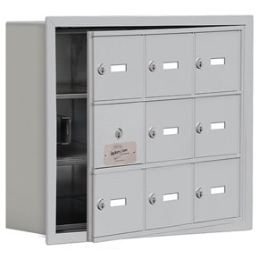 Salsbury 19135-09 Phone Locker Aluminum