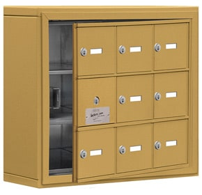 Salsbury 19135-09 Phone Locker Gold