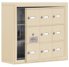 Salsbury 19135-09 Phone Locker Sandstone