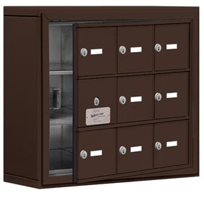 Salsbury 19135-09 Phone Locker Bronze