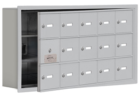 Salsbury 19135-15 Phone Locker Aluminum