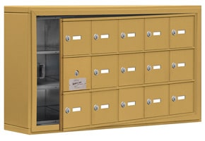 Salsbury 19135-15 Phone Locker Gold