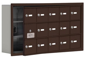 Salsbury 19135-15 Phone Locker Bronze