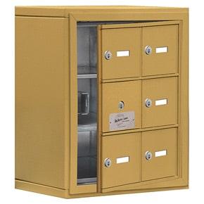Salsbury 19138-06 Phone Locker Gold