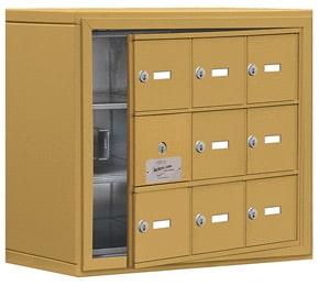 Salsbury 19138-09 Phone Locker Gold