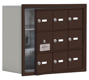 Salsbury 19138-09 Phone Locker Bronze