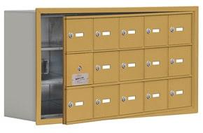 Salsbury 19138-15 Phone Locker Gold